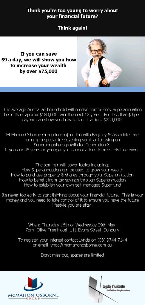 Super Gen X info